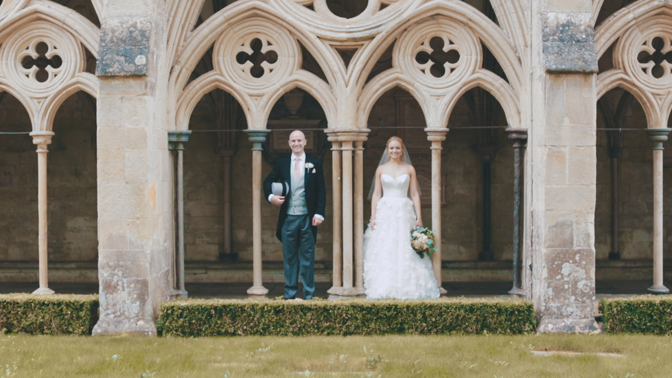 JAMES AND MILLY - SALISBURY CATHEDRAL