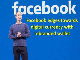 Facebook edges towards digital currency with rebranded wallet