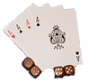 Handcrafted Hardwood Games Cards & Dice