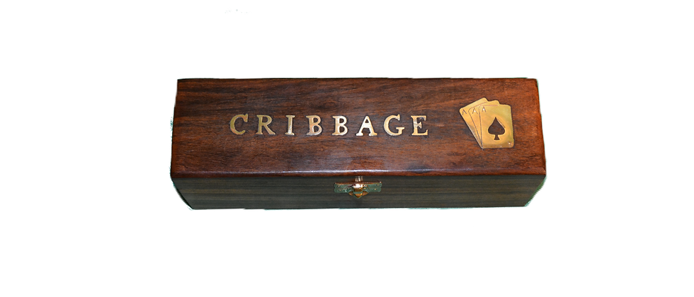 Cribbage Box with Board