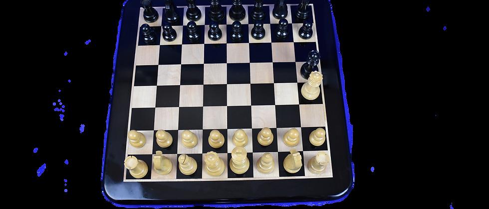 """Ebony chess sets 3.75"""" King"""
