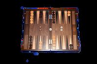 Handcrafted Hardwood Games Backgammon