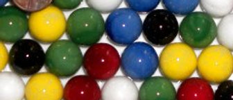 """5/8"""" Marbles (Packages of 7 or 10)"""