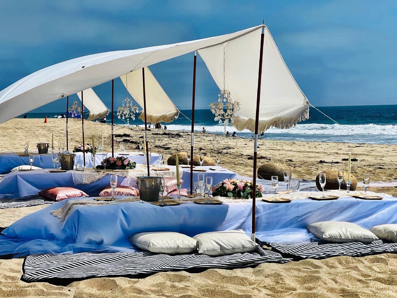 Luxury Trois Fringe Tent Pop-Up for 30