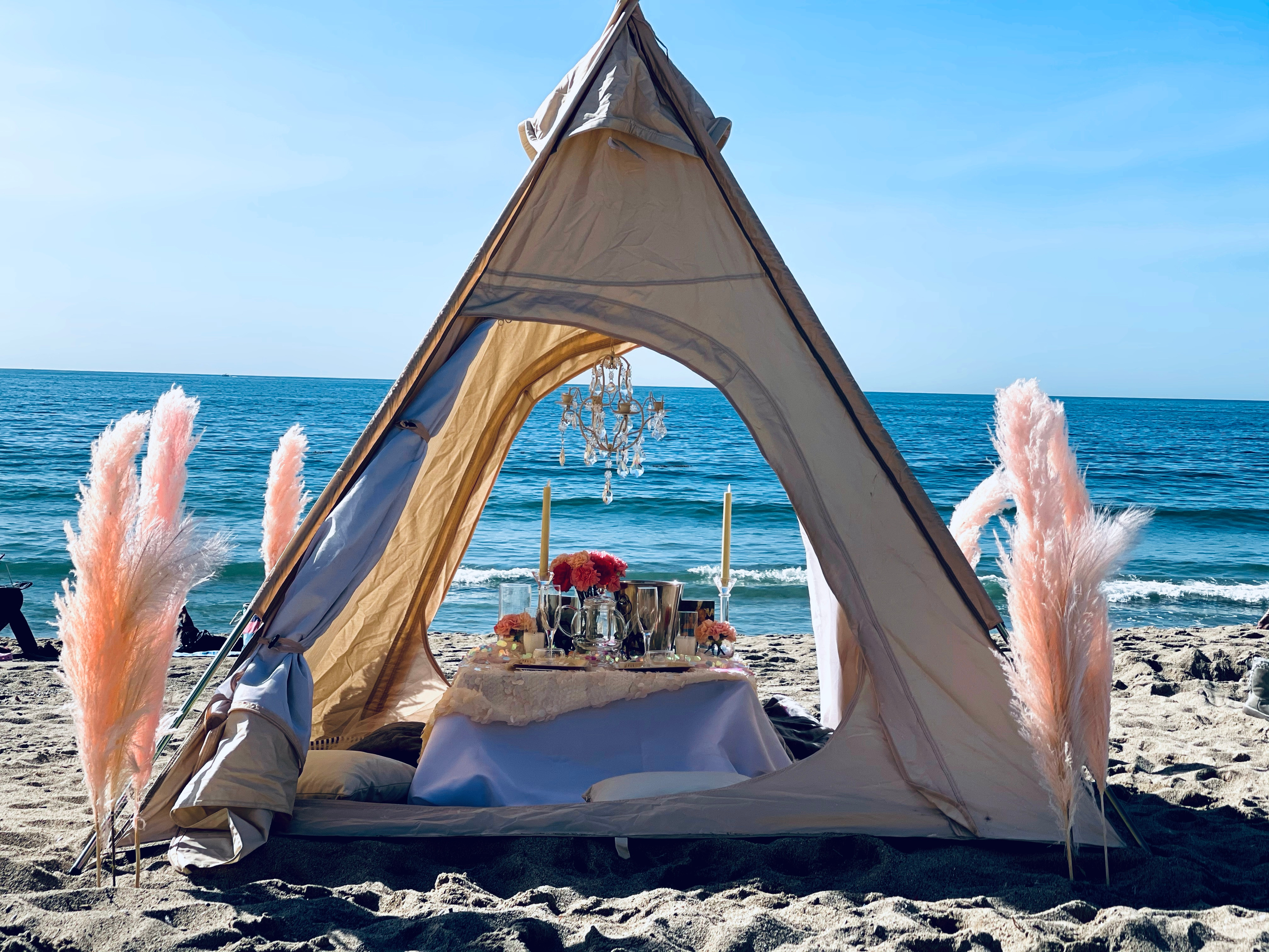 Luxe Teepee Pop-Up for Two or Four
