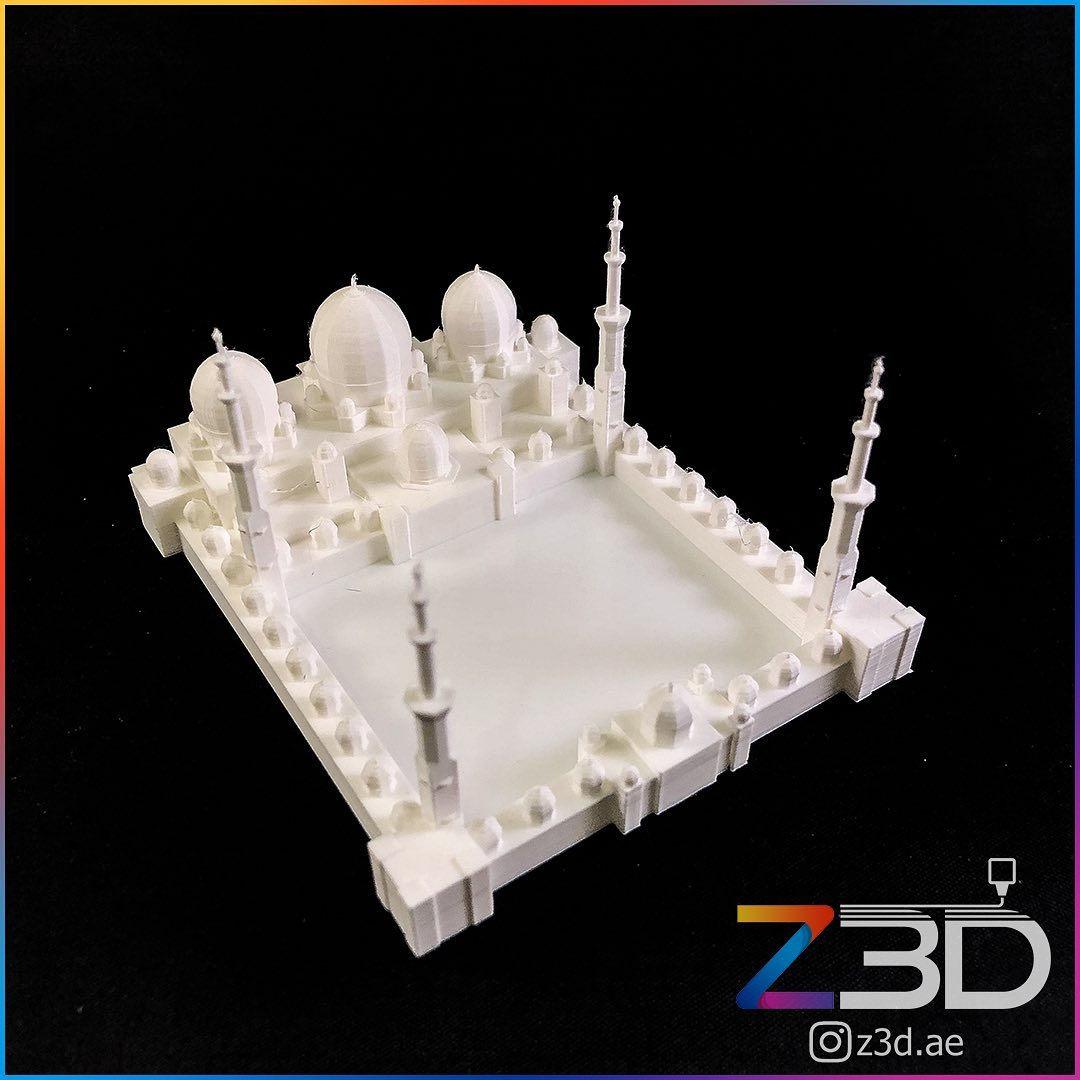 3D Printed Abu Dhabi mosque