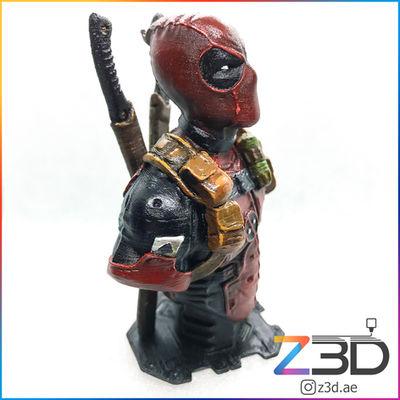 deadpool 3d printed figure