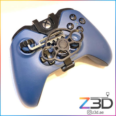 3D Printed xbox controller steering