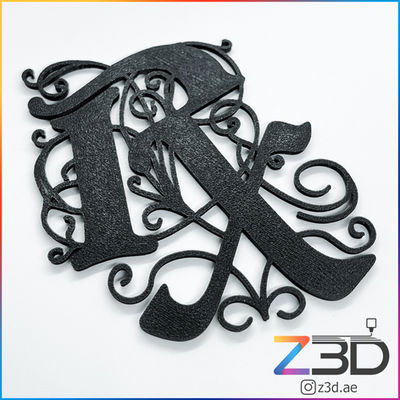 RX COFFEE 3D printed logo