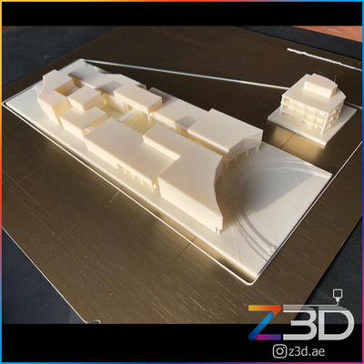 3D printed architecture student project