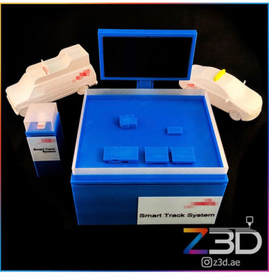3D printed miniature display