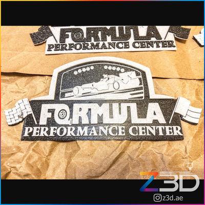 Custom 3D Printed business logo