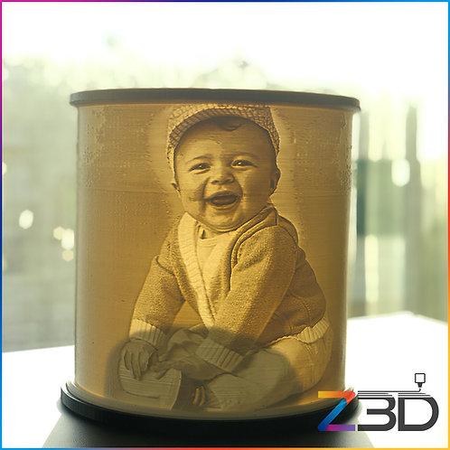 dubai lithophane 3d printed