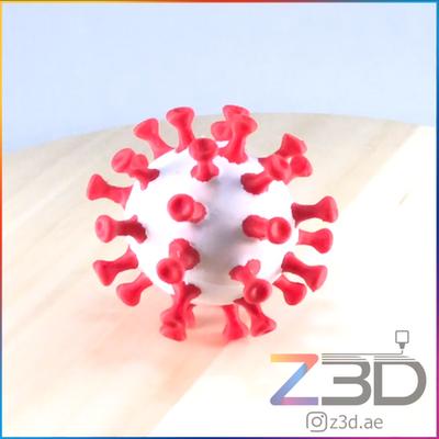 3D printed Covid-19 virus