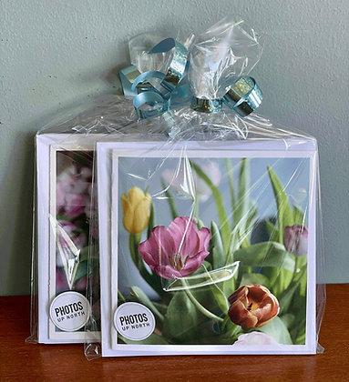 KORTPAKKE med 6 blomsterkort