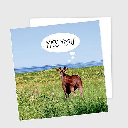 MISS YOU, dobbelt kort