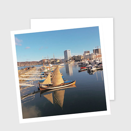 Åfjordbåt i Bodø havn