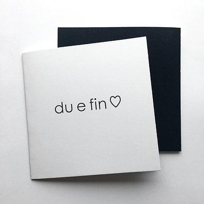 DU E FIN