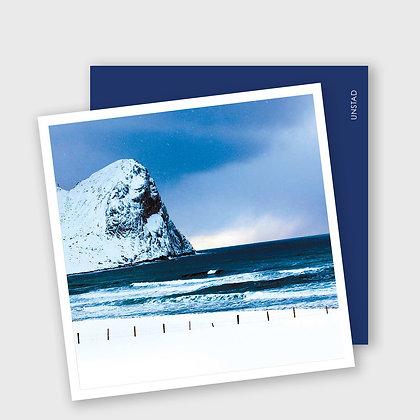 UNDSTAD, i Lofoten, dobbelt kort