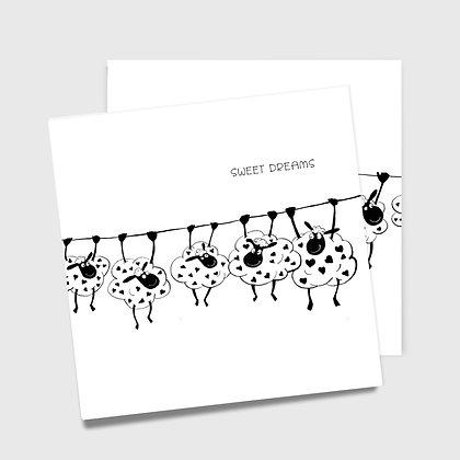 SWEET DREAMS, dobbelt kort