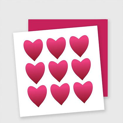 Hjertekort, dobbelt kort