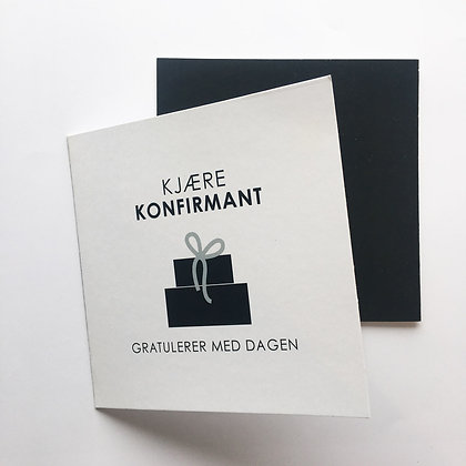 KJÆRE KONFIRMANT