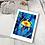 Thumbnail: Løvetann, kunstkort