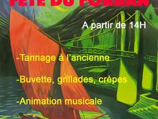Fête du Forban, Tannage 2018