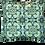 Thumbnail: Printed 'Macau Tile' cushion cover