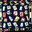 Thumbnail: Printed 'Drinks' cushion cover
