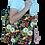 Thumbnail: Printed 'Lily Pad Koi' tote bag