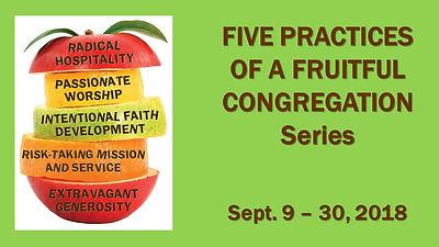 Five Practices of a Fruitful Congregatio