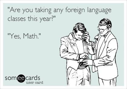 Maths + Language = Speech Pathologists!