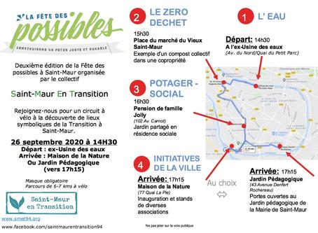 ANNULÉ - Deuxième édition de la fête des possibles à Saint-Maur