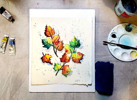 New! Online Watercolor Mini-Course and a Coupon