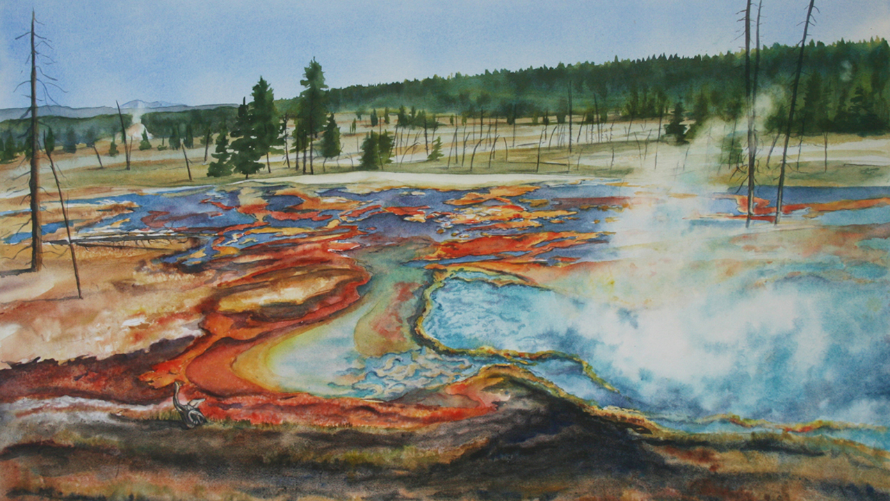 Firehole River Springs