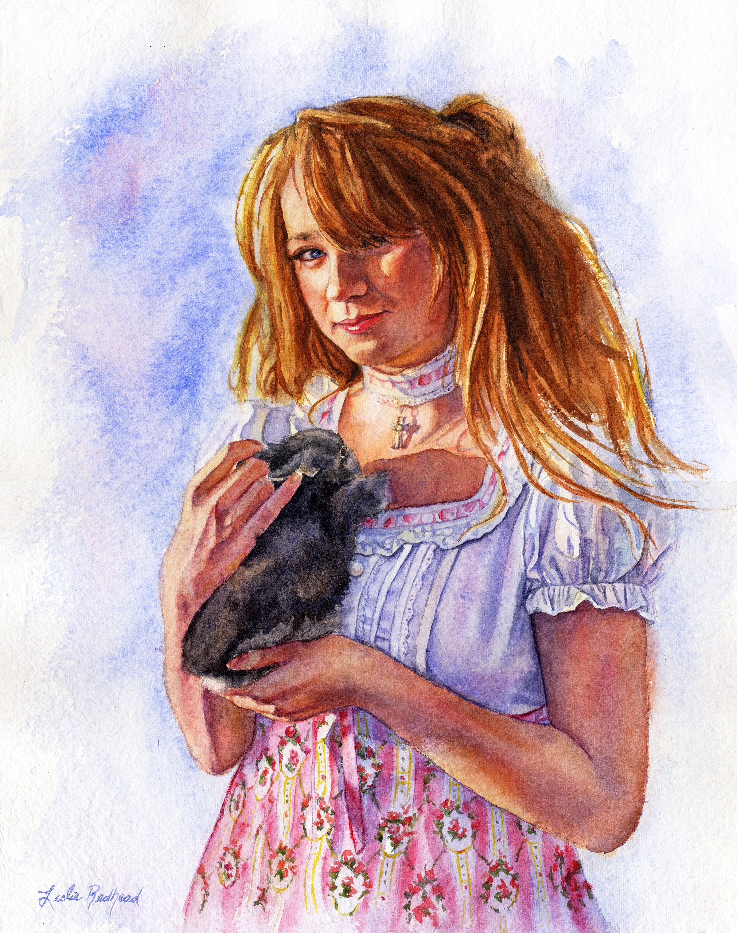 jesseca'srabbit,16x20, sold