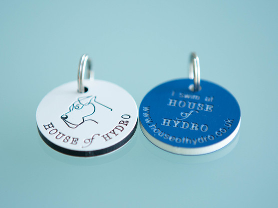House of Hydro dog tag