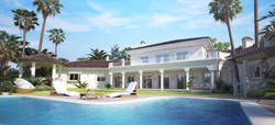 Mallorca Villa 3D Visualisierung