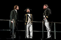 'Captain' in Steven McNeff's Banished with Trinity Laban Opera