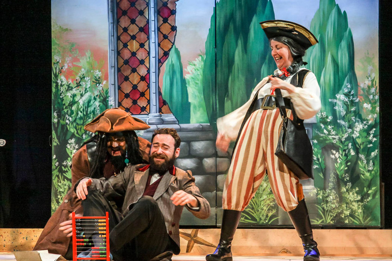 'Frederick' in The Pirates of Penzance with Derby G&S Society