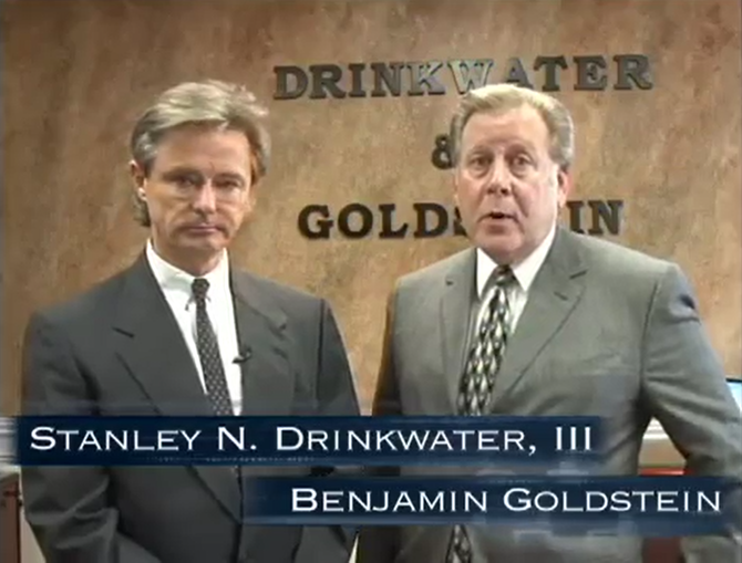 A Drinkwater & Goldstein, LLP Retrospective & Special Event Announcement
