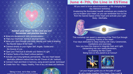 Awakening The Illuminated Heart, June 4th - 7th 2020, on line EST from Toronto