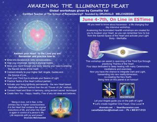 Awakening The Illuminated Heart, June 4th - 7th 2020, on line EST from Toronto