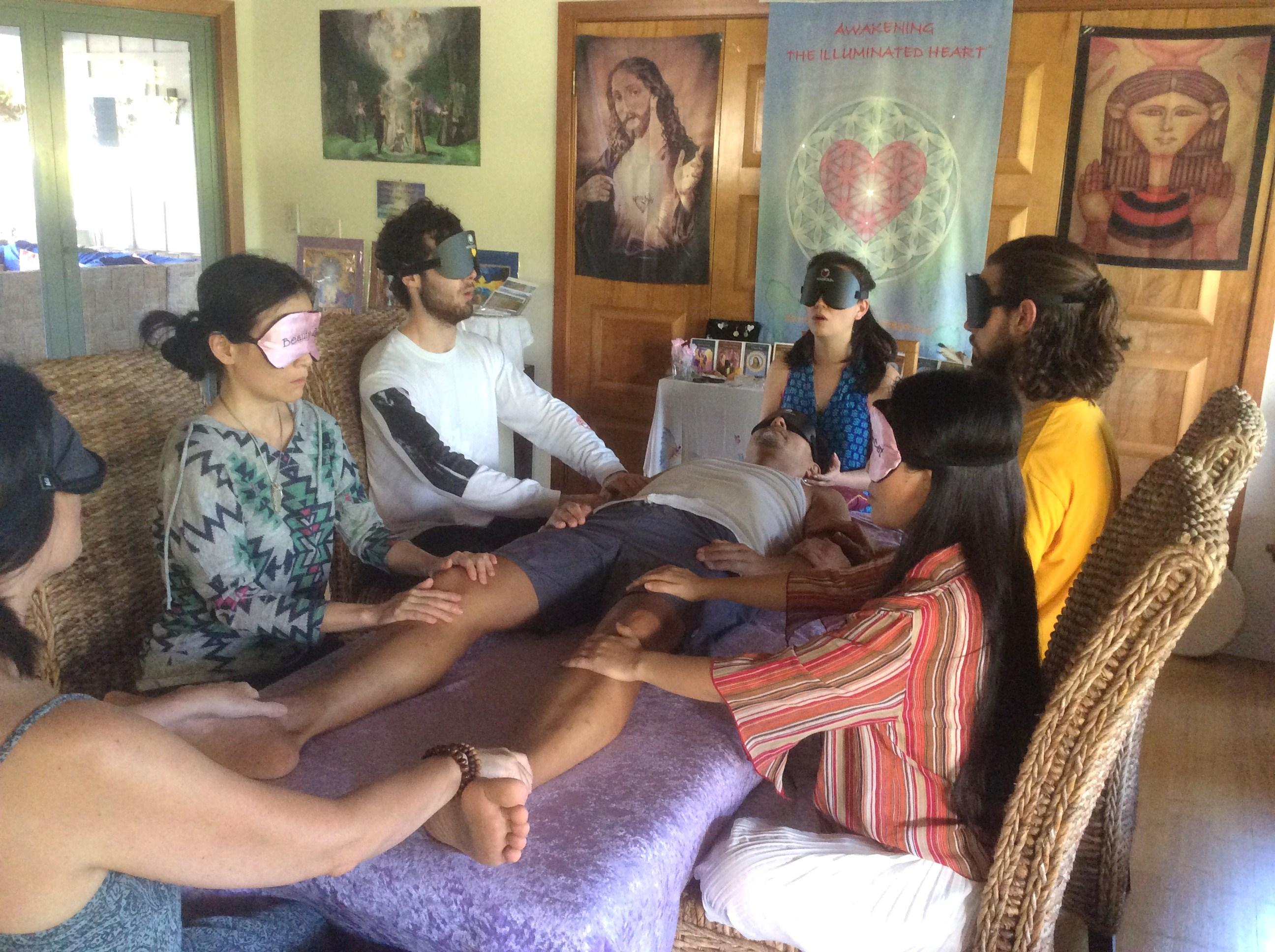 Om Healing Ceremony