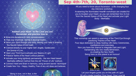 Awakening The Illuminated Heart, Sep 4th - 7th 2020, Toronto-west, ON