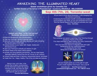 Awakening The Illuminated Heart, Sep 4th - 7th 2020, Toronto-west, ON