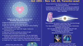 Awakening The Illuminated Heart, Oct 29th - Nov 1st, 20, Toronto-west, ON