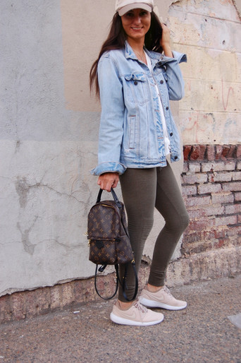 Casual Transitional Look