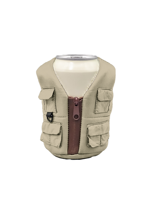 Puffin Coozies Adventure Vest (Classic Tan)